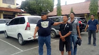 Polisi tangkap komplotan yang bawa kabur truk kontainer barang bukti
