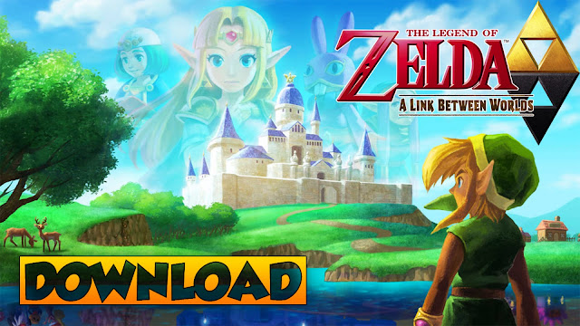 The Legend of Zelda: A Link Between Worlds Decrypted  3DS (EUR/USA) ROM