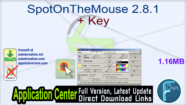 SpotOnTheMouse 2.8.1 + Key