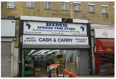 african food store
