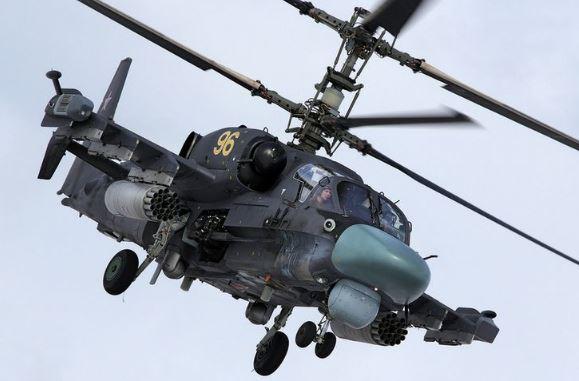 Kamov Ka-52 Alligator specs