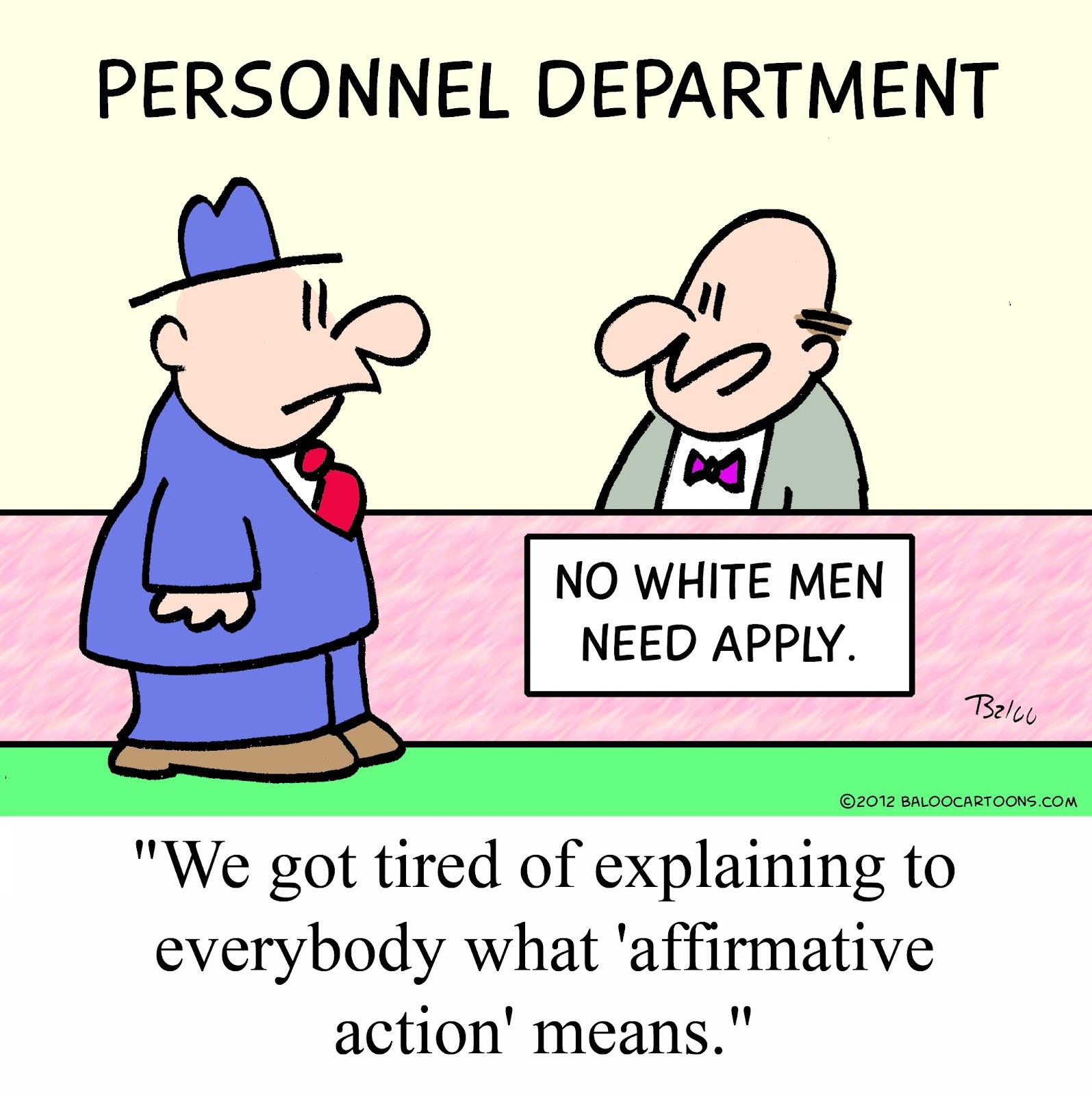 baloo s cartoon blog  affirmative action cartoon