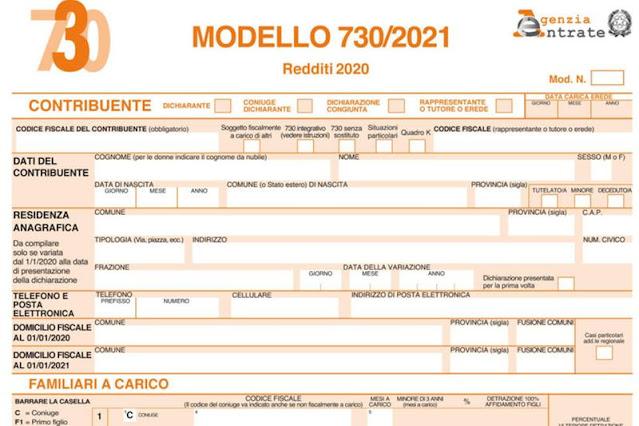 Dichiarazione redditi 2021, tutte le novità della precompilata dell'Agenzia delle Entrate