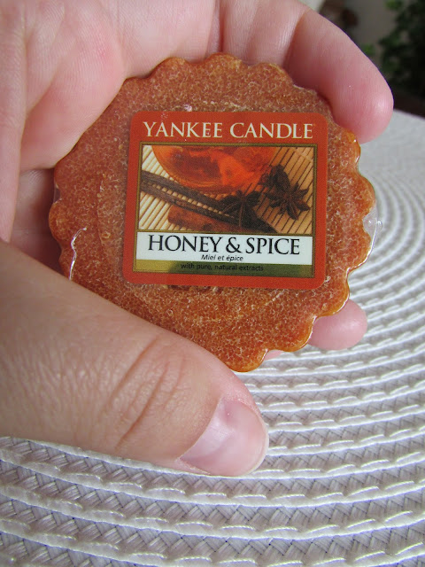 Honey&Spice Yankee Candle