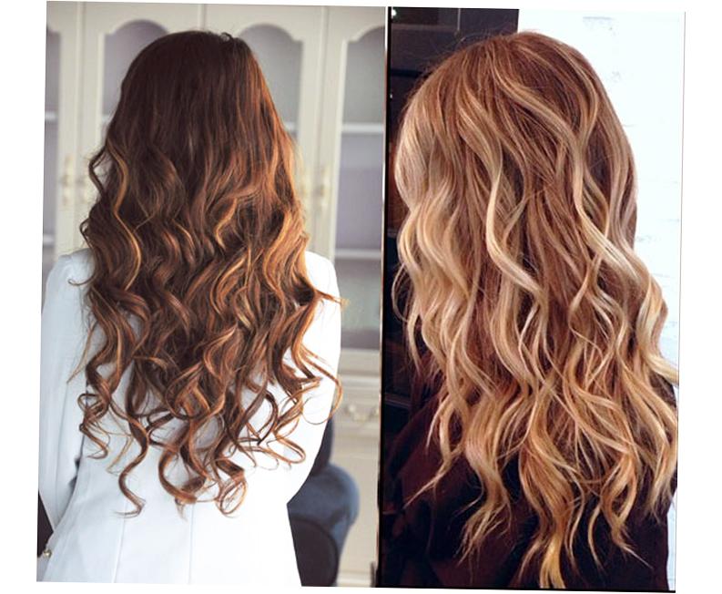Balayage Highlights on Dark Hair Style - Ellecrafts