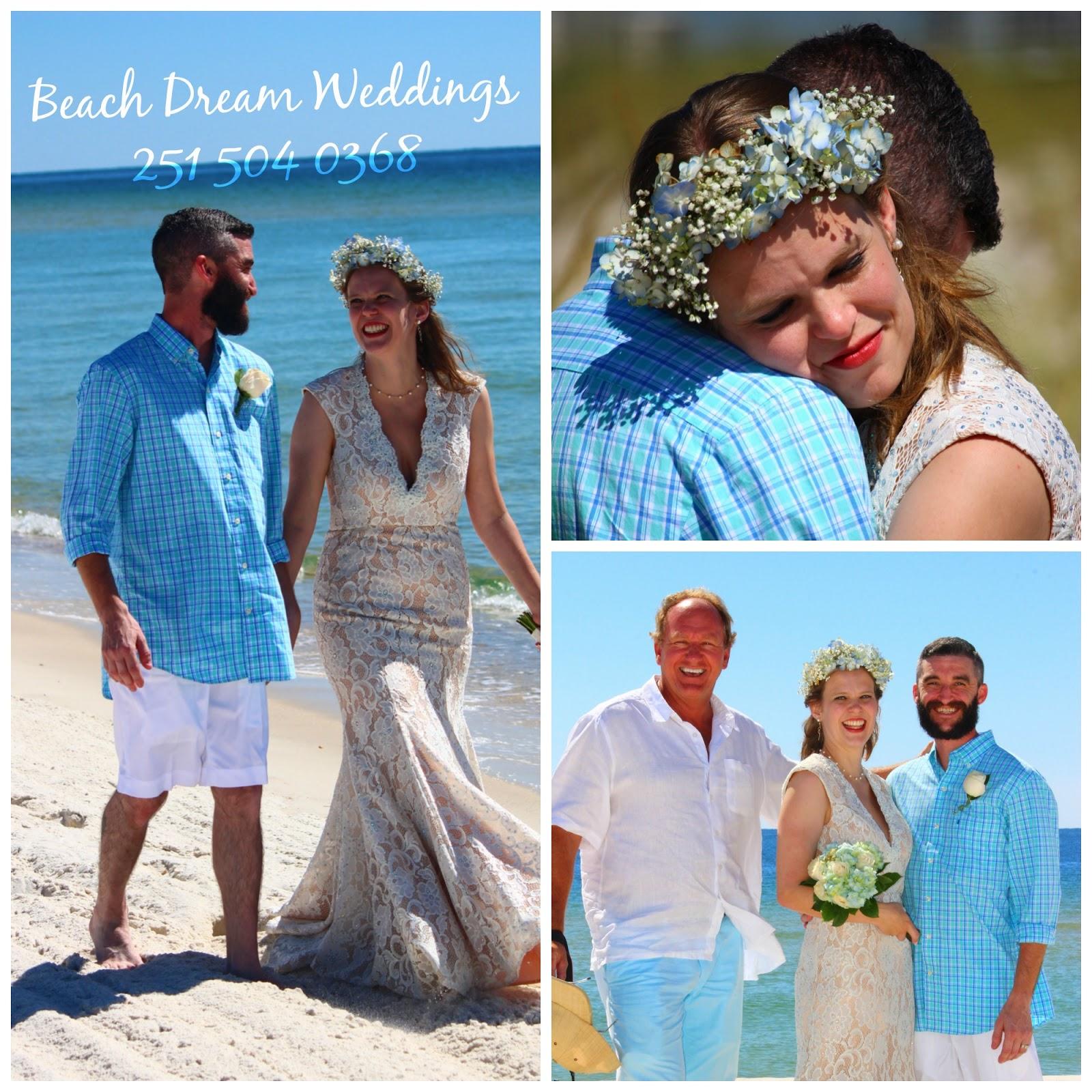 Gulf Beach Wedding Of Trey And Lydia