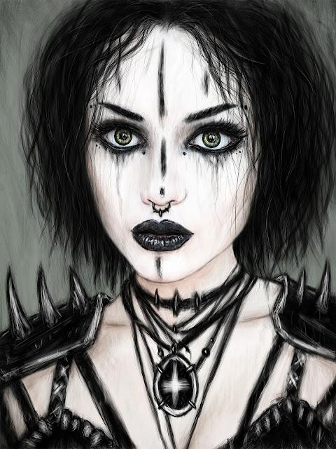 Gothic Fantasy Portrait