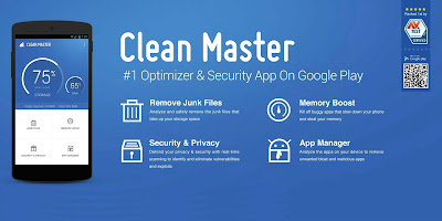 Download Clean Master (Boost & AppLock) 5.13.4 For Android Terbaru
