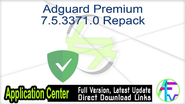 Adguard Premium 7.5.3371.0 Repack