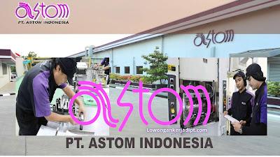 Lowongan Kerja PT Astom Indonesia