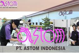 Lowongan Kerja PT Astom Indonesia Terbaru 2021