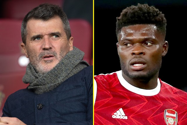'I wish Thomas Partey was playing in the Man United midfield' - Ex-Man Utd captain Roy Keane