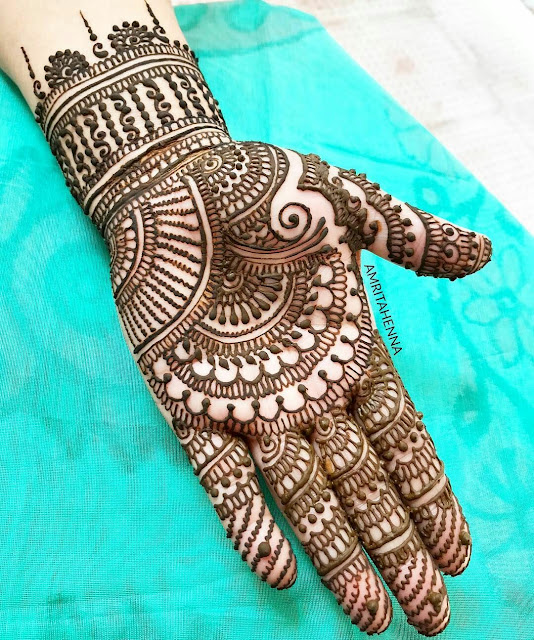 45+ Latest Full Hand Mehndi Designs