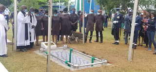 Nigerian first female helicopter combat pilot, Arotile laid to rest in Abuja