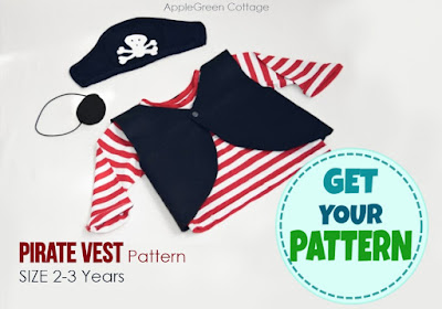 How To Make A Pirate Costume For Kids Last Minute Diy Applegreen