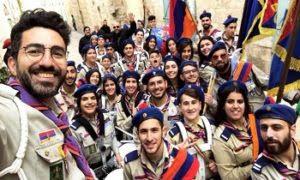La bandera de Artsaj en Israel causó descontento en Bakú