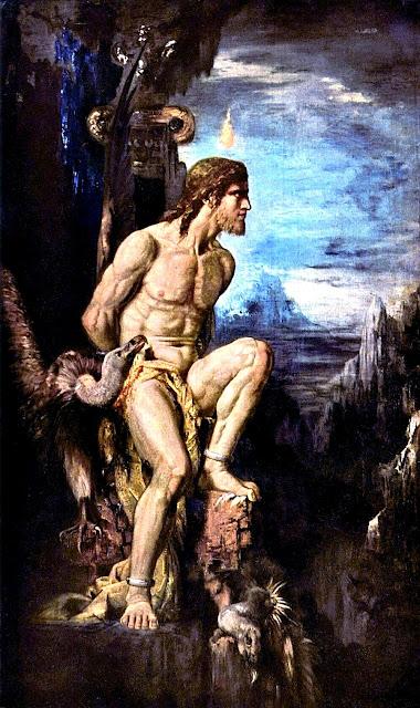 Gustave Moreau - Prometeo