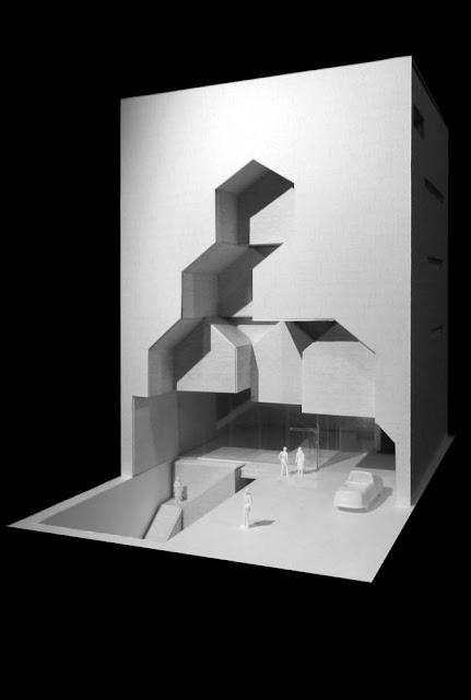 diseño en 3d con vista al sótano
