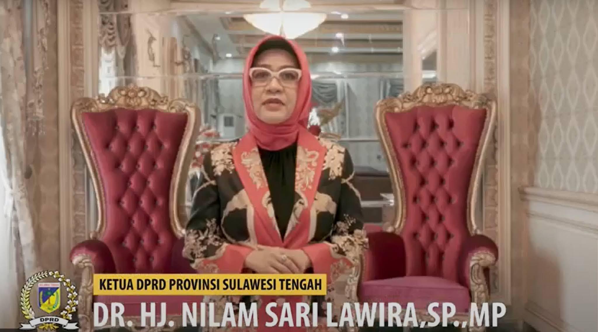 Ucapan Selamat Natal dan Tahun Baru - Ketua DPRD Provinsi Sulawesi Tengah