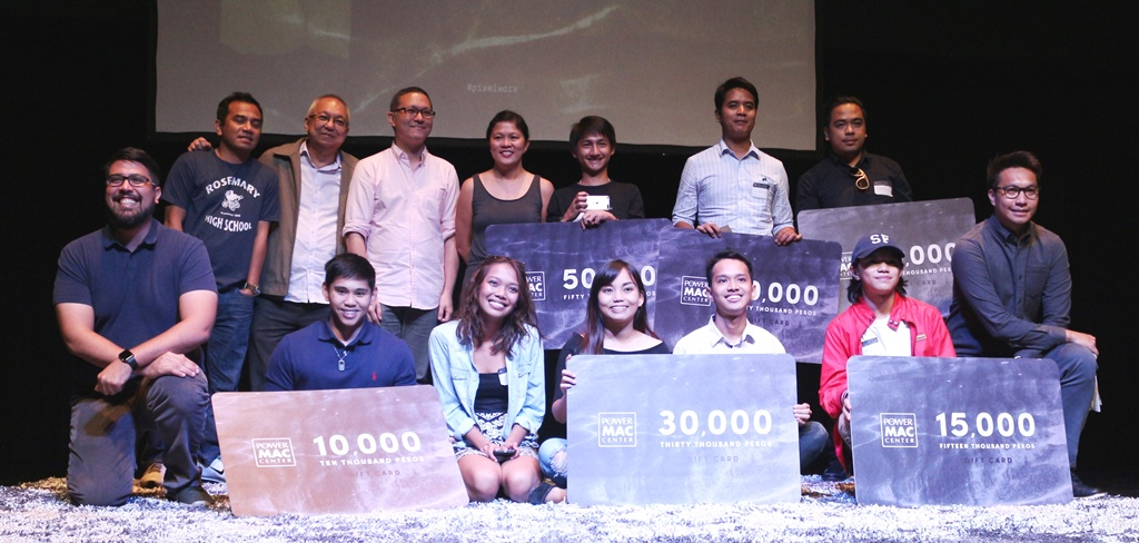 Power Mac Center Pixelworx holds 'Cinemansanas' awards