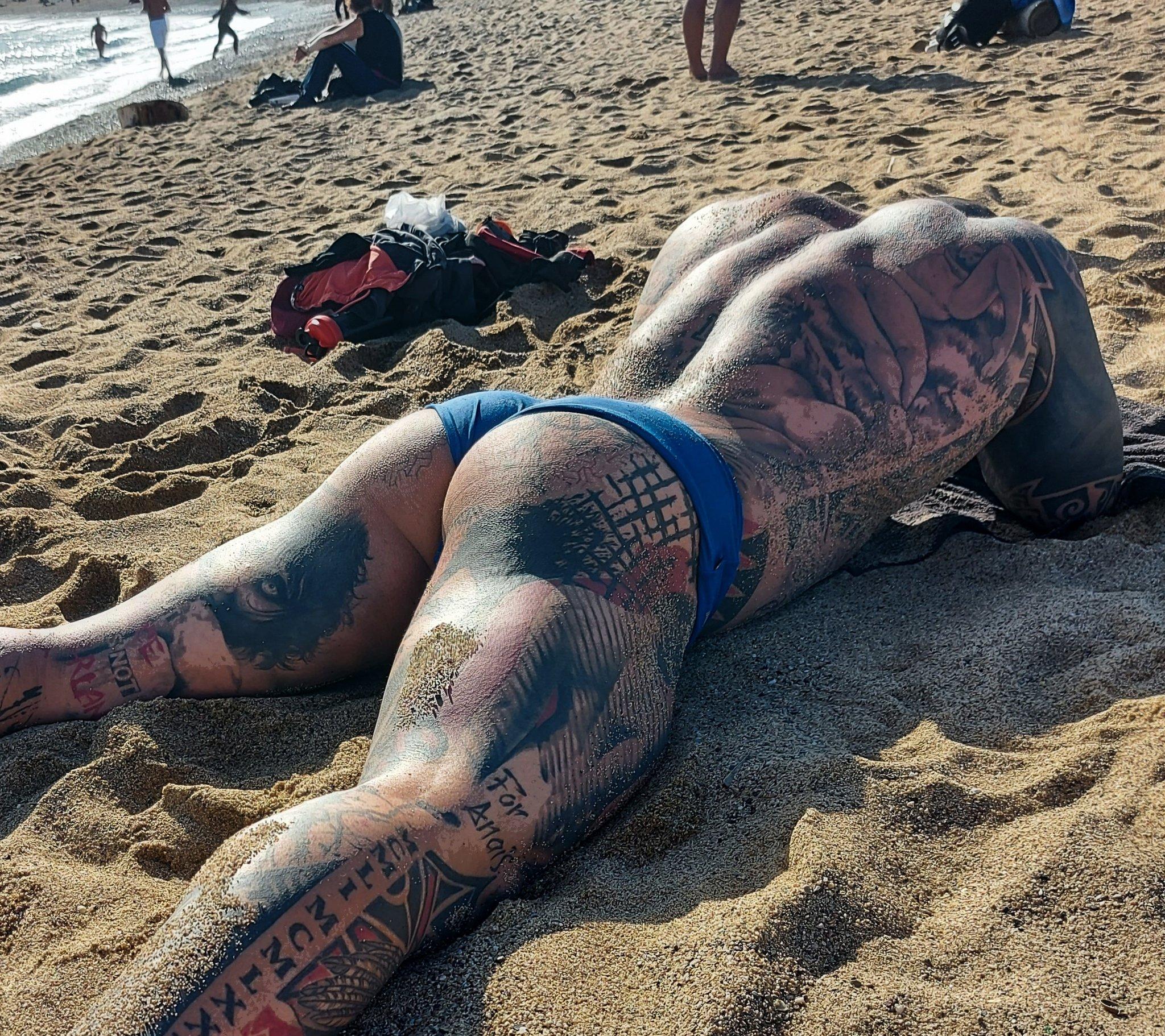 actor porno rob en la playa