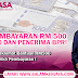 Cara Pembayaran RM500 Untuk B40 Dan Penerima BPR!