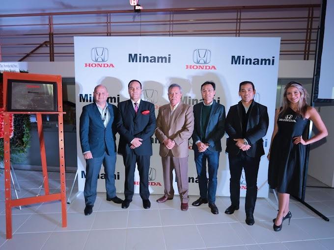 Minami, concesionario autorizado de Honda del Perú inaugura su primer local en Arequipa