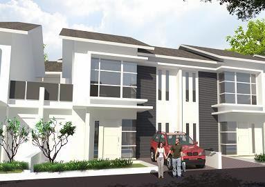 desain perumahan 2 lantai model rumah minimalis type 80