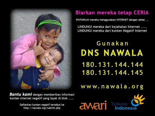 DNS Nawala Project