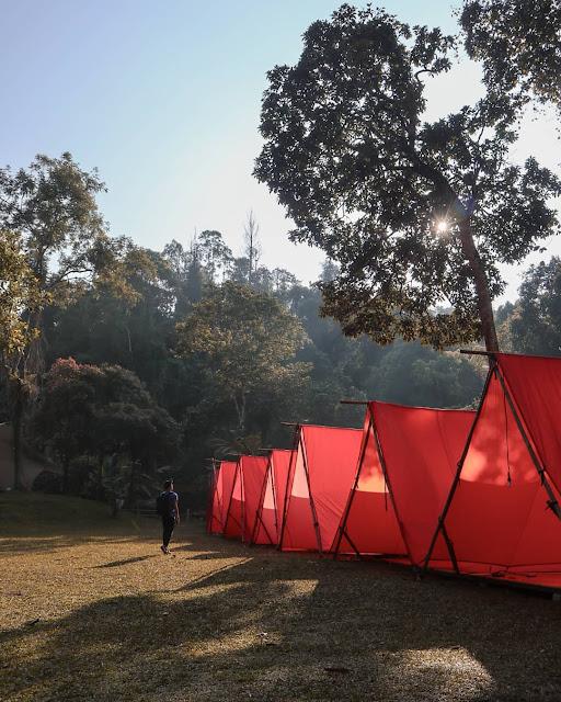 Camping di Jembatan Gantung Situ Gunung