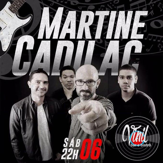 EVENTOS: Martine Cadilac no Vinil neste sábado(6) as 22h em Caxias