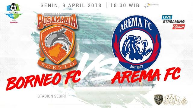Prediksi Pusamania Borneo Vs Arema FC, Senin 09 April 2018 Pukul 18.30 WIB