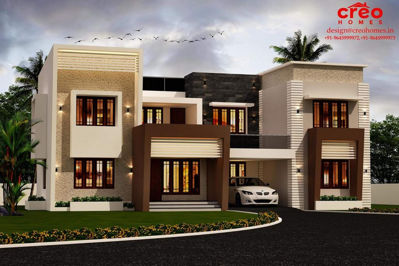 Luxury Houses Front Elevation Design | Engineering Discoveries