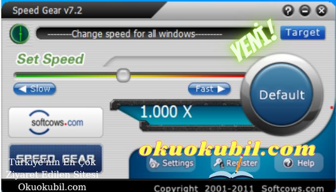 Metin2 Speed Gear 7.2 Ejder Kapma Programı (Hızlandırma) Maksimum 5 Hız