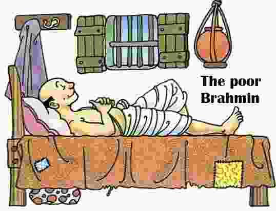 The poor Brahmin | एक गरीब ब्राह्मण - Hindi Kahaniya - Panchatantra story in hindi
