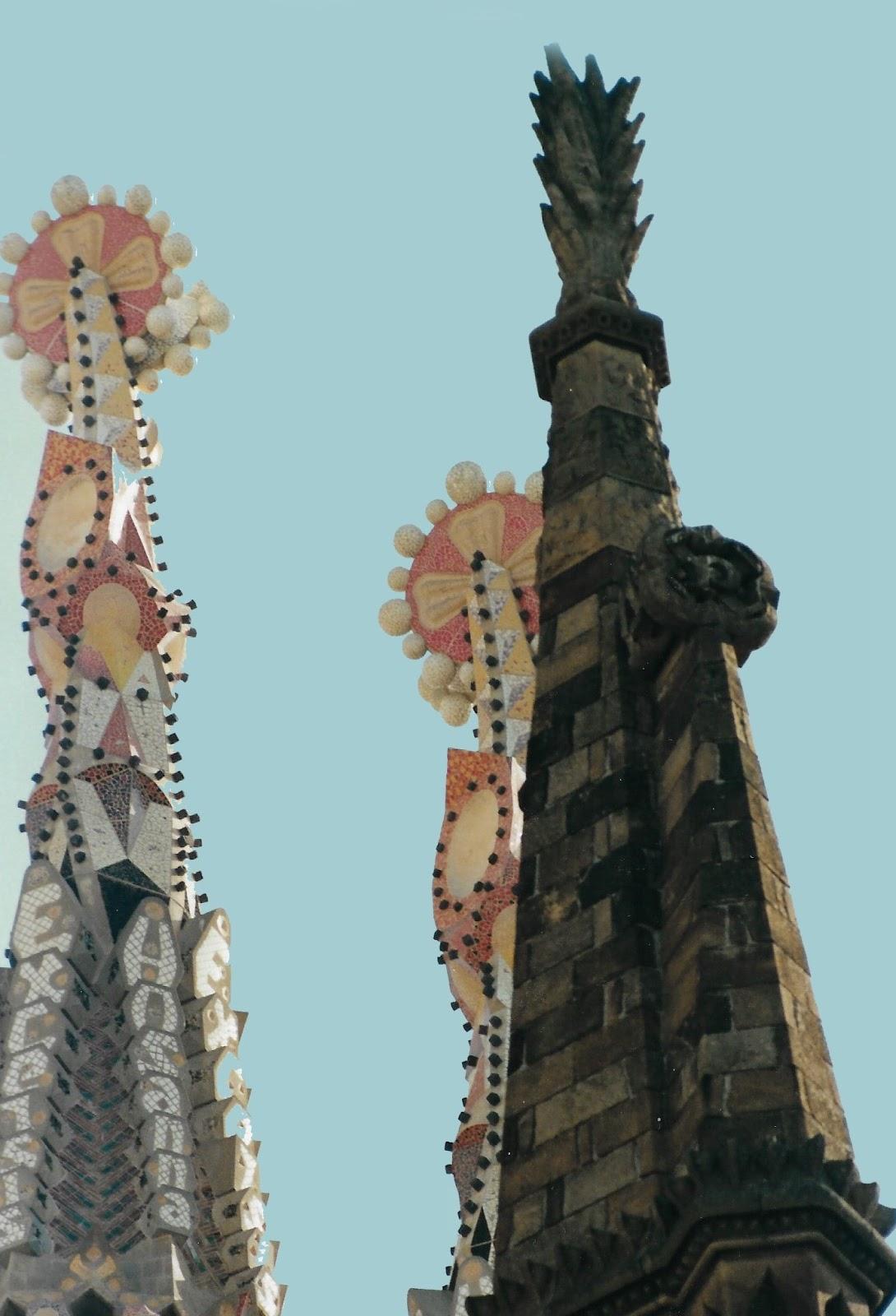 עבודותיו של גאודי בברצלונה