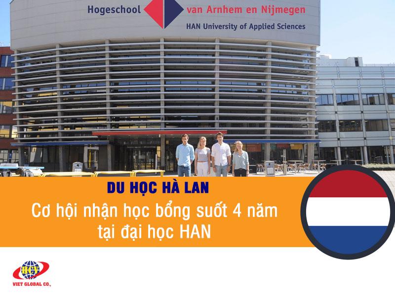 Du học Hà Lan: Cơ hội nhận học bổng suốt 4 năm tại trường đại học HAN