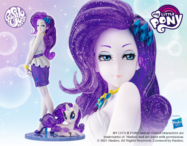 MY LITTLE PONY RARITY LIMITED EDITION BISHOUJO STATUE