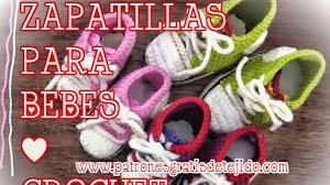 Cómo tejer con ganchillo / crochet hermoso calzado de bebe