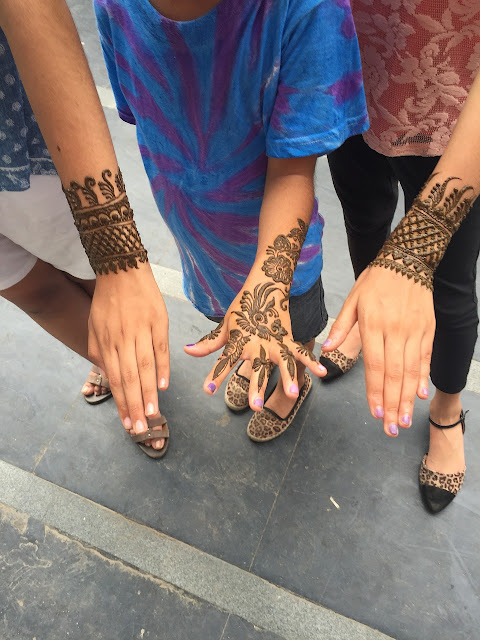 Beautiful indian mehndi design