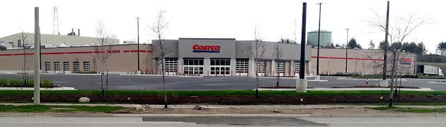 The new Costco building in Orillia.