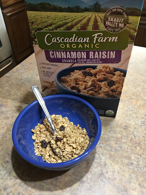Cascadian Farm Cinnamon Raisin Granola