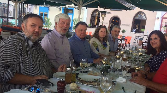 Επίσημο γεύμα από τον Αντιπεριφερειάρχη Αργολίδας στον Περιφερειάρχη της Περιφέρειας Mazowia της Πολωνίας