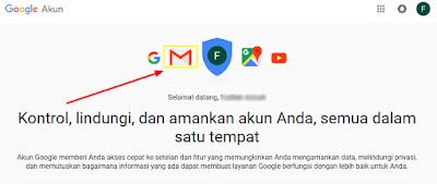 Halaman Akun Google