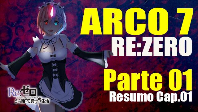Resumo Arco 7 Re:Zero -  INICIALIZAÇÃO -  Capitulo 01 -  Parte 01