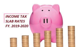 Income Tax Slab FY. 2019-2020 (AY. 2020-2021)