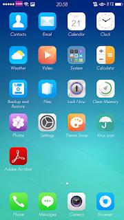 Tema Color OS Terbaru