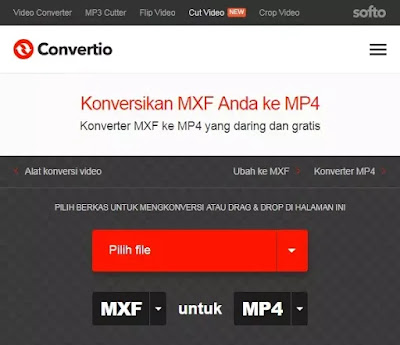 Cara mengubah MXF menjadi MP4-2