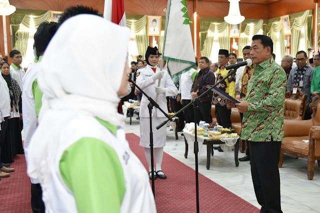 Kepengurusan HKTI Kalsel Resmi Dilantik