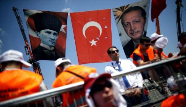 Ο Ερντογάν «πραναγγέλει» μετωπική με ΗΠΑ-Ε.Ε.